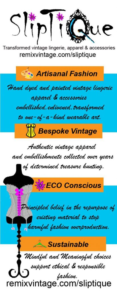 artisanal fashion conscious fashion sustainable fashion upcycle fashion-the remix vintage fashion