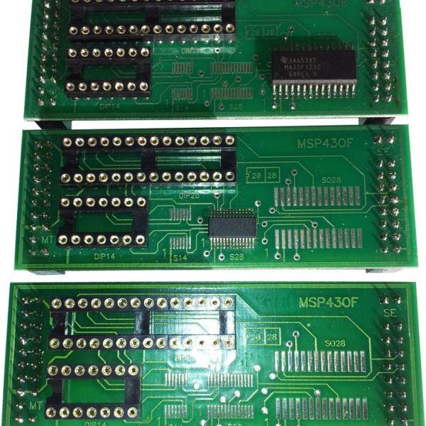 Adapter MSP430F