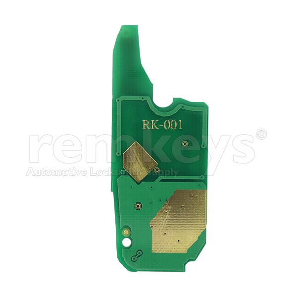 RB001 - Fiat Fiorino 3Btn Flip 433mhz Repairment Board
