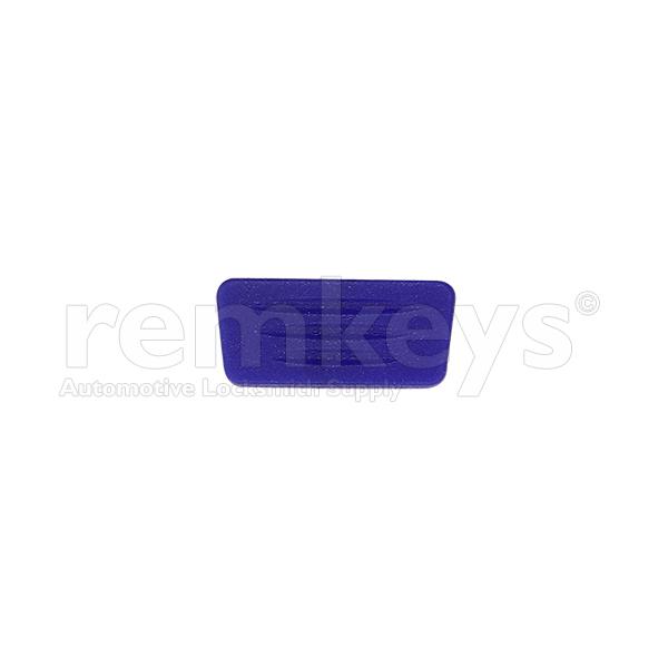 Fiat Rubber 1 Button Blue