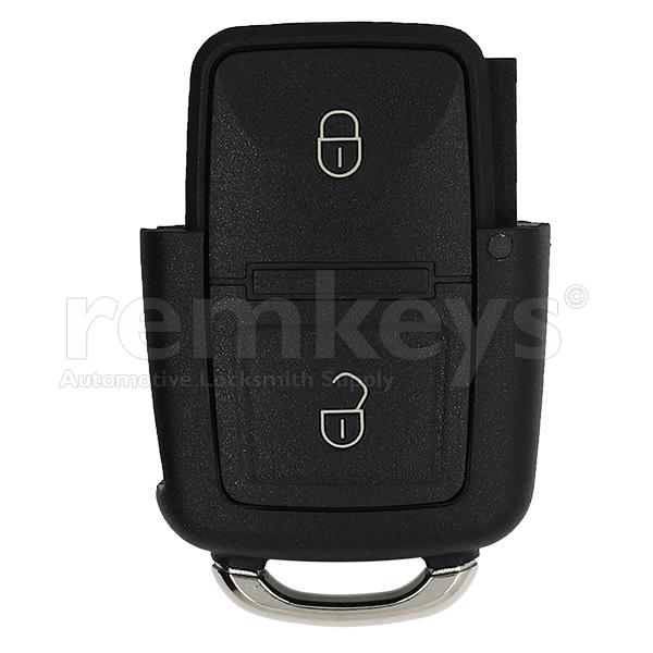 VAG 2 Button Remote Case - (VW-Skoda-Seat)