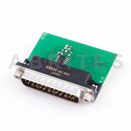 ZN033, ABPROG, NEC, adapter