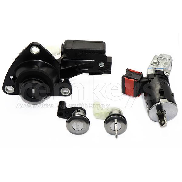 Dacia Duster Lock Set (Ignition-Door Lock-Boot Lock) OEM