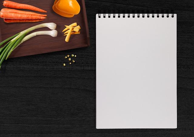 planificación del menú semanal