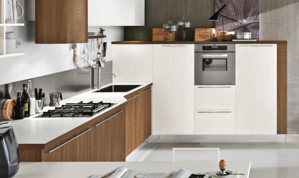 Remodelaciones de Cocinas. Integrando la Cocina a la Sala - Comedor. Una manera de agrandar el espacio y lograr más iluminación. Por: t-remodela (5/5)