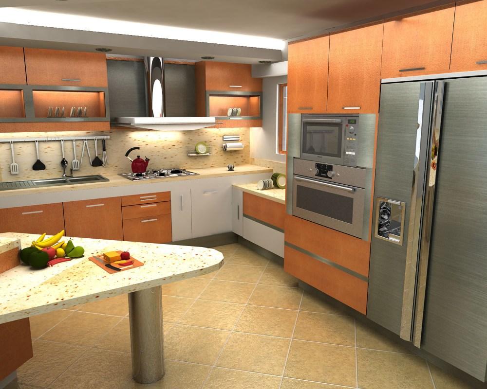 Remodelaciones de Cocinas. Integrando la Cocina a la Sala - Comedor. Una manera de agrandar el espacio y lograr más iluminación. Por: t-remodela (3/5)