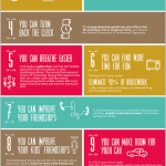 15 tips to clear out clutter-infographic