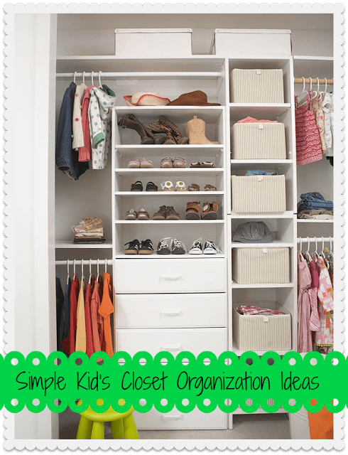 Tips For Organizing Kids Closets
