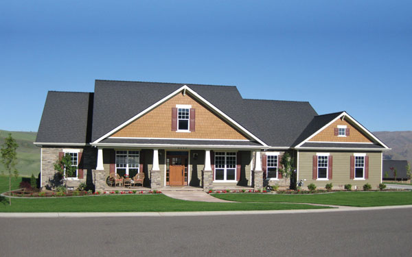 Ranch Style Home Exterior