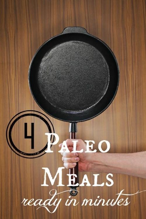 4 Paleo Meal Recipes via Tipsaholic.com