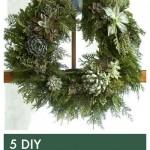 5 DIY Christmas Wreaths