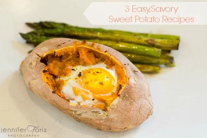 3 Easy Sweet Potato Recipes | Tipsaholic.com