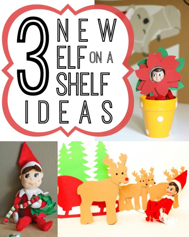 Elf on a Shelf Ideas and Templates via Tipsaholic
