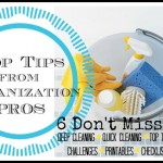 Top Cleaning Tips from Organization Pros via Tipsaholic