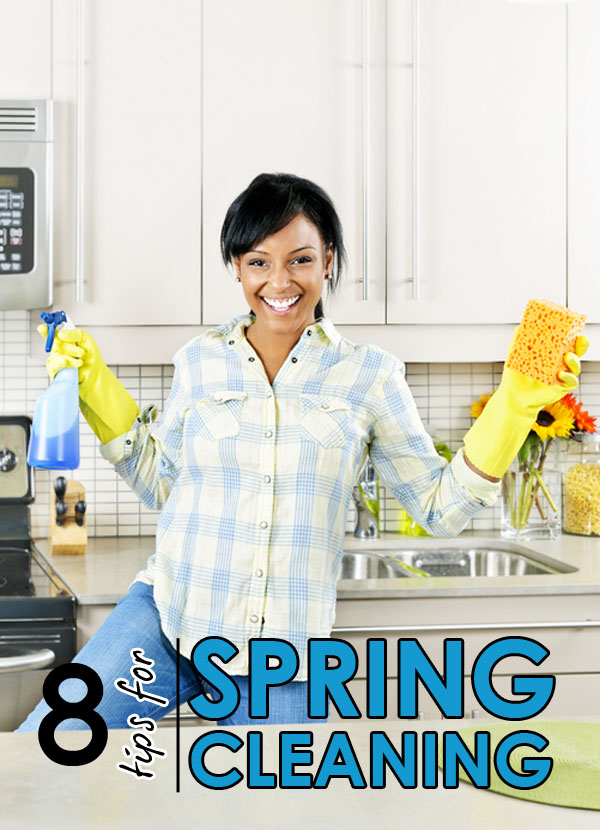 Top 8 Tips for Spring Cleaning Your Home - Tipsaholic.com