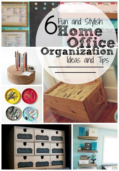 diy office organization 1 diy home office. Delighful Home 6 Fun And Stylish Home Office Organization Ideas Tips  Tipsaholiccom  Home On Diy 1