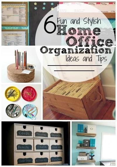 stylish office organization. 6 Fun And Stylish Home Office Organization Ideas Tips | Tipsaholic.com  #home Stylish Office Organization R
