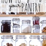 How to Organize Your Pantry via Tipsaholic.com
