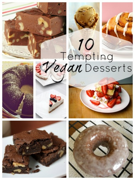 10 Tempting Vegan Desserts | Tipsaholic.com #recipe #cooking #vegan #dessert
