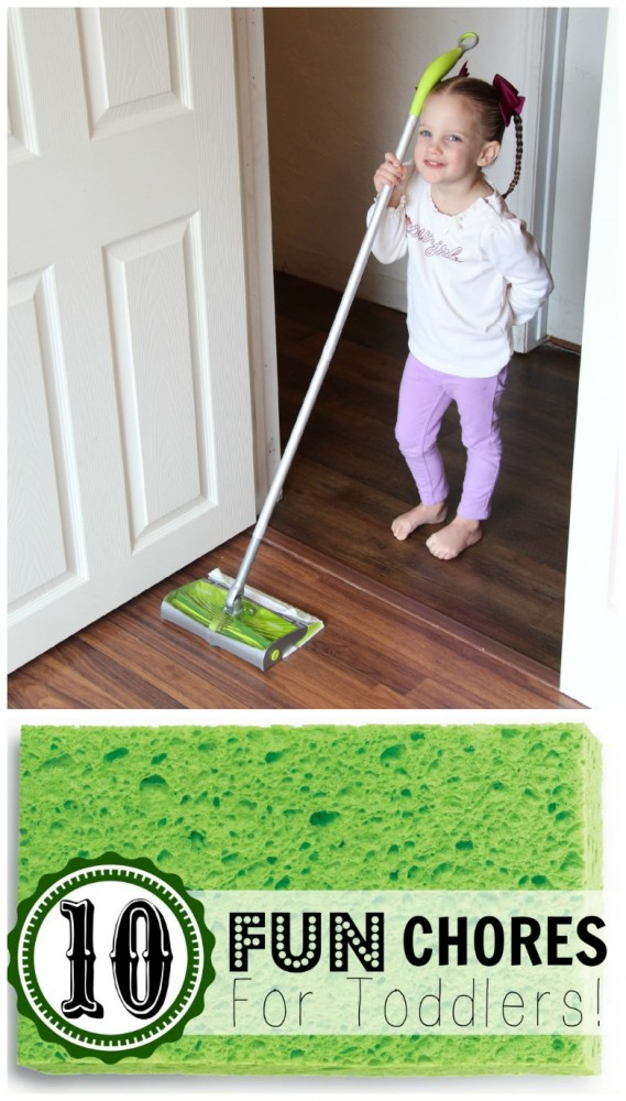 10 Fun Chores for Toddlers!
