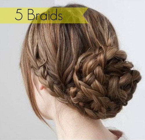If you have medium to long hair there are so many ways to wear your hair. An easy and intricate way to do your hair is with braids. Here are 5 Braids to try. 5 Braids Hairystyles via tipsaholic.com #braids #hair #hairstyles