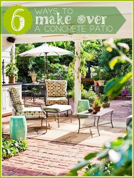 make over a patio