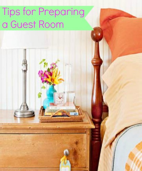 Preparing a Guest Room @ Tipsaholic