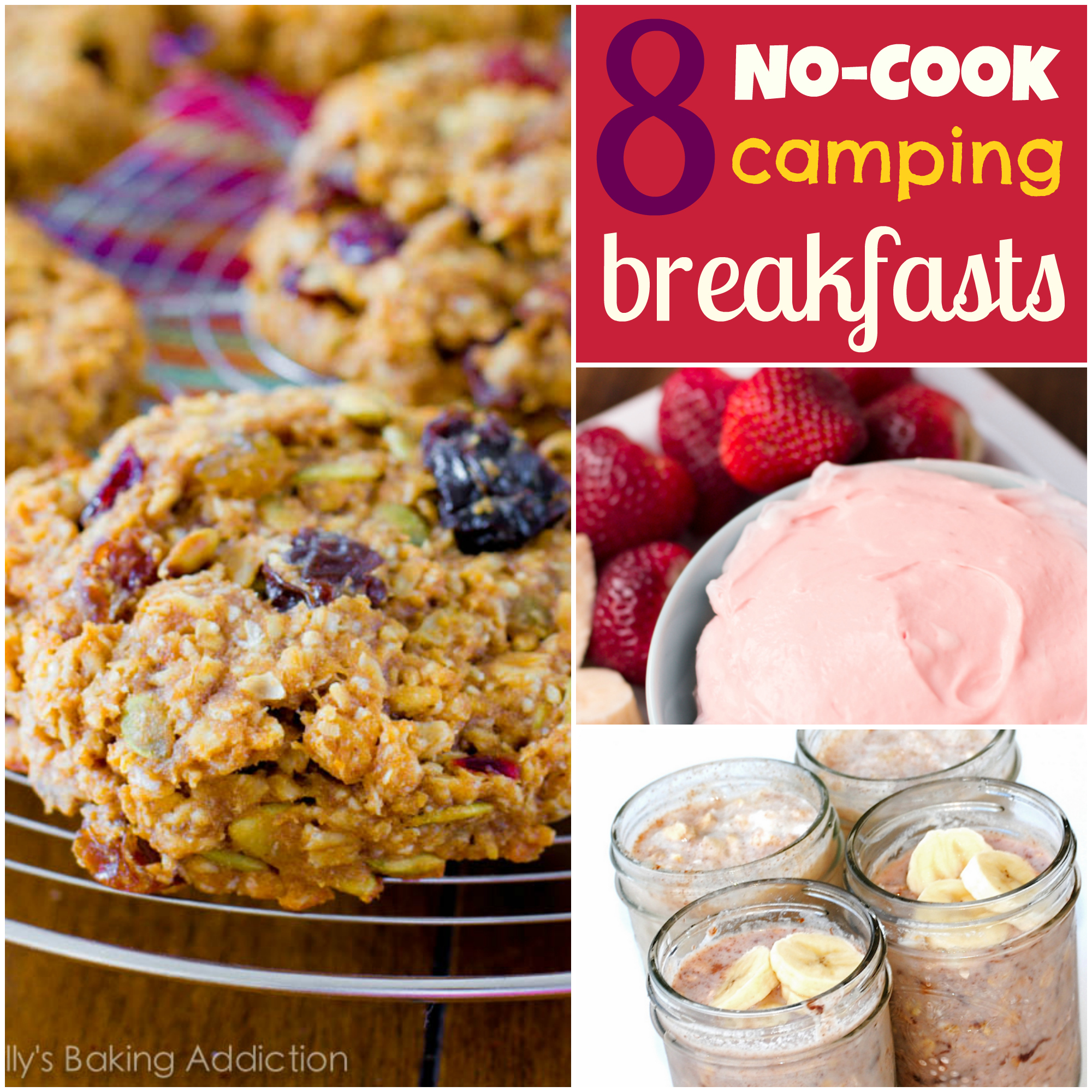8 Ideas For Easy No Cook Camping Breakfasts Breakfast