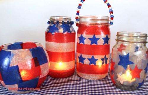 patriotic lanterns patriotic bbq ideas