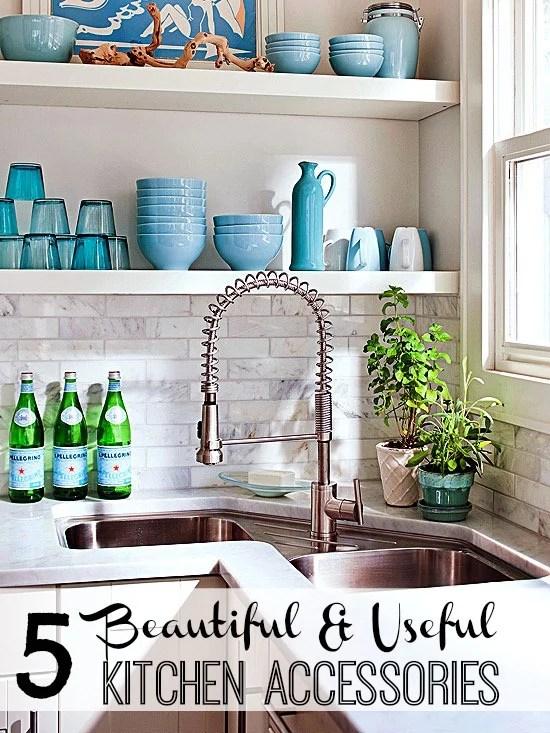5 Beautiful & Useful Kitchen Accessories via tipsaholic.com