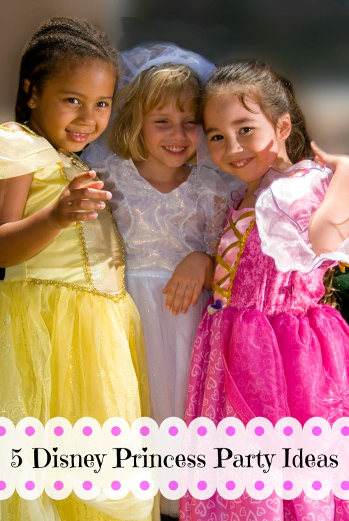 Many little girls dream of being a princess. Here are 5 Disney princess party ideas that will inspire your next birthday party for your little princess via tipsaholic.com #princess #party #birthday #disney #disneyprincess #girls