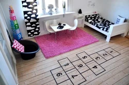 hopscotch playroom ideas