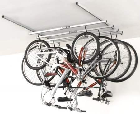 ceiling mount bike rack