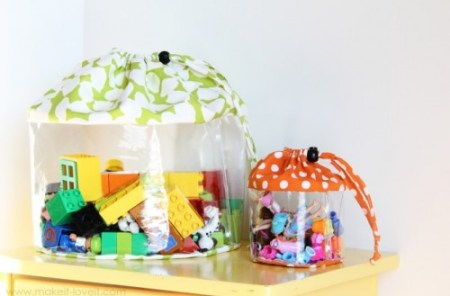 clear storage bags