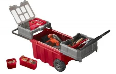 sliding tool box