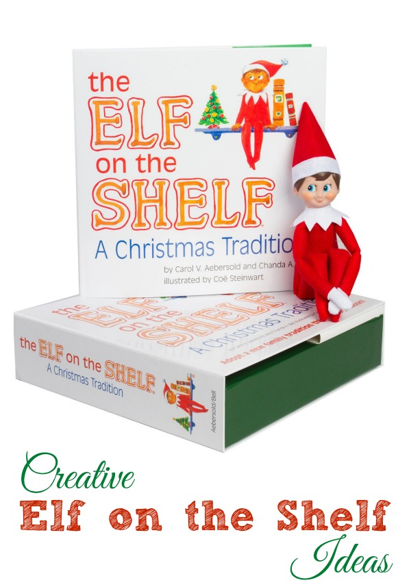 The Elf on the Shelf can be a fun holiday tradition, But have you run out of ideas for posing the elf every night? Here are some elf on the shelf ideas from tipsaholic.com #elfontheshelf #elf #christmas