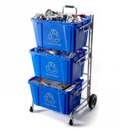 recycle bin cart