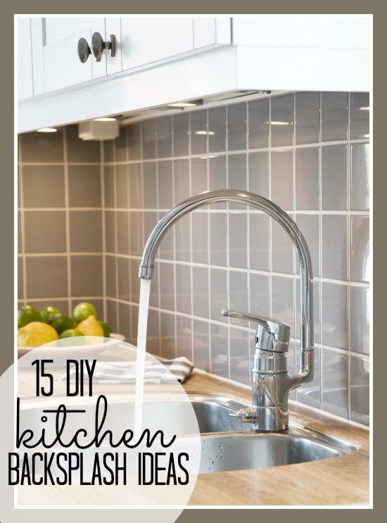 Remodelaholic | 15 DIY Kitchen Backsplash Ideas