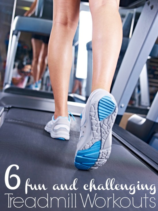 Running on the treadmill day after day can get very boring FAST. Make your time on the treadmill fun and challenging with these 6 treadmill workouts! 6 Fun & Challenging Treadmill Workouts via Tipsaholic.com #workout #running #gym #treadmill #run #fitness