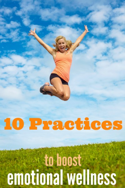 Life can really wear on your emotional health. Take up a few of these practices to boost your emotional wellness and start feeling great! 10 Practices to Boost Emotional Wellness ~ Tipsaholic.com #health #wellness #practices