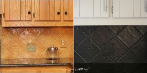 In need of a new kitchen backsplash but don't want to spend a lot of money or time? Here are 15 awesome DIY kitchen backsplash ideas you can try! 15 DIY Kitchen Backsplash Ideas via @tipsaholic #backsplash #kitchen #diy #home #tile