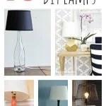 10 Inspiring DIY Lamps via tipsaholic.com