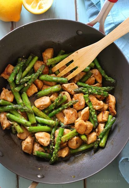 Asparagus, a tasty spring vegetable, can protect against heart disease and cancer. Eat more asparagus by trying these 30 delicious asparagus recipes! 30 Delicious Asparagus Recipes via @tipsaholic #asparagus #recipes #veggies