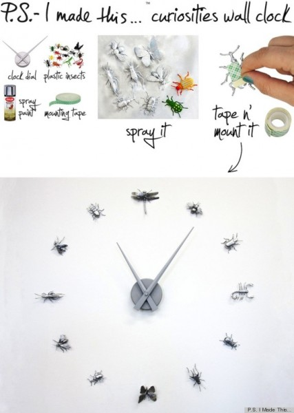 Here are 25 DIY clock ideas for kids' rooms that range from adorable to ultra cool. You'll find a clock on this list that's perfect for your kid's room! 25 DIY Clock Ideas For Kids' Rooms via tipsaholic.com #clock #kids #decor #diy #clocks