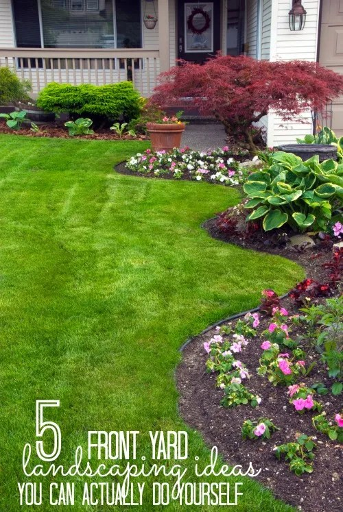 Remodelaholic | 5 Front Yard Landscaping Ideas You Can Actually Do ...