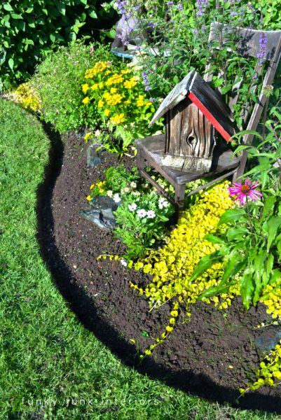 Cheap Garden Edging Ideas Remodelaholic 27 beautiful garden edging ideas increase the beauty of your lawn by adding garden edging that works well with the style workwithnaturefo