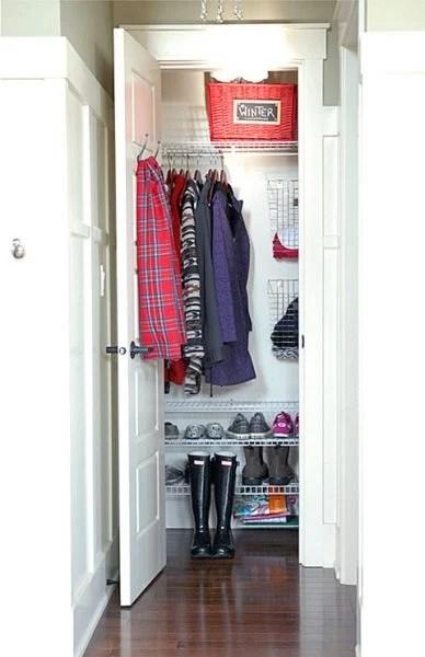 Remodelaholic | 11 Ways to Upgrade Your Coat Closet