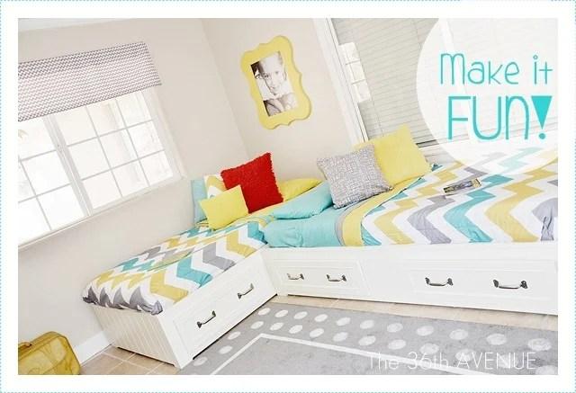 25 Stellar Shared Bedrooms for Kids - Tipsaholic on Teenager:_L_Breseofm= Bedroom Ideas  id=56825