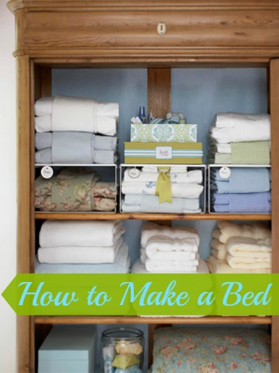 How to Make a Bed @ Tipsaholic