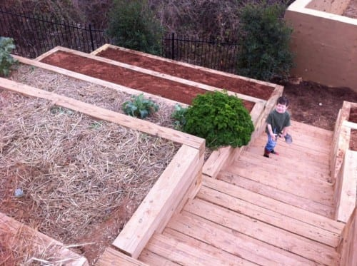 Both beginning and experienced gardeners love raised garden beds. Here are 30 cool ideas for raised garden beds, from the practical to the extraordinary. 30 Raised Garden Bed Ideas via @tipsaholic #garden #gardenbeds #raisedgardenbeds #gardening